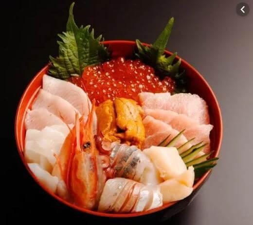 とれとれ海鮮丼